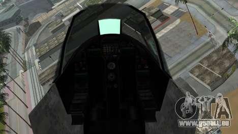 Mammoth Hydra v2 pour GTA San Andreas vue de droite