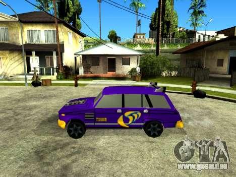 VAZ 2104 WRC pour GTA San Andreas laissé vue