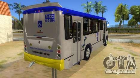 CAMION R622 pour GTA San Andreas vue intérieure