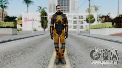 Gordon Freeman Skin für GTA San Andreas zweiten Screenshot