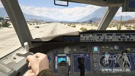 GTA 5 Boeing 727-200 vierten Screenshot