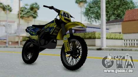 GTA 5 Atomic Sanchez für GTA San Andreas