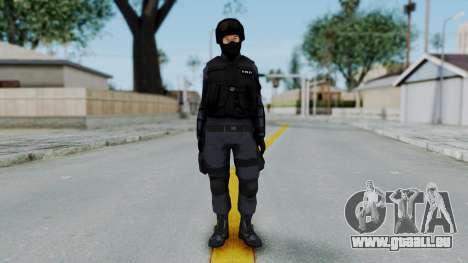 S.W.A.T v3 pour GTA San Andreas deuxième écran