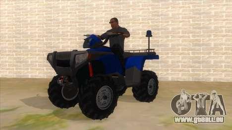 ATV Polaris Police für GTA San Andreas