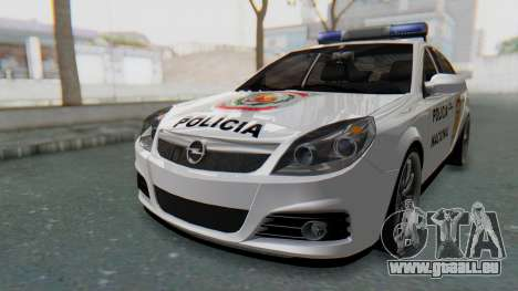 Opel Vectra 2005 Policia für GTA San Andreas