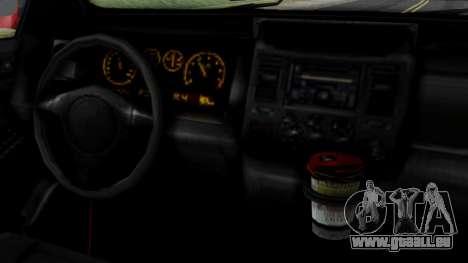 GTA 5 Albany Cavalcade v2 für GTA San Andreas zurück linke Ansicht