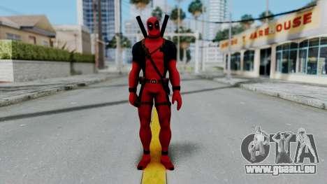 Marvel Heroes - Deadpool pour GTA San Andreas deuxième écran