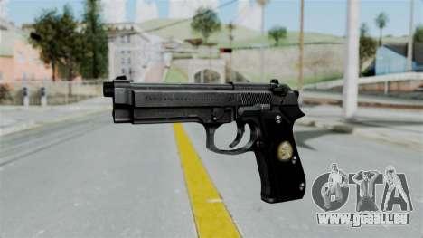 Tariq Iraq Pistol für GTA San Andreas