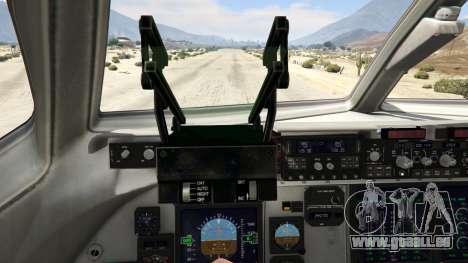 GTA 5 C-17A Globemaster III v.1.1 vierten Screenshot