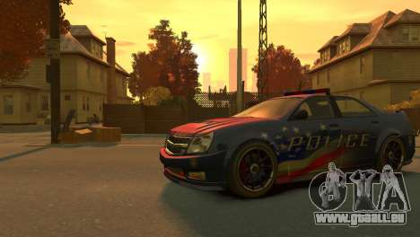 Albany Police Stinger für GTA 4 linke Ansicht