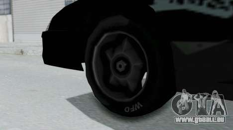 Hotring Jester pour GTA San Andreas sur la vue arrière gauche