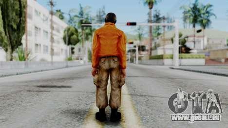 CS 1.6 Hostage 02 pour GTA San Andreas troisième écran