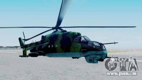 Mi-24V Afghan Air Force 112 für GTA San Andreas