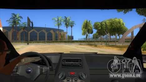 Fiat Panda V3 für GTA San Andreas Innenansicht