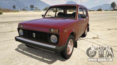 VAZ-Lada Niva 2121 pour GTA 5
