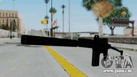 9A-91 Kobra and Suppressor für GTA San Andreas
