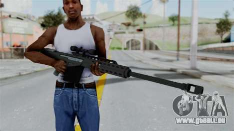 GTA 5 Heavy Sniper (M82 Barret) für GTA San Andreas