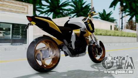 Honda CB1000R v2 pour GTA San Andreas laissé vue