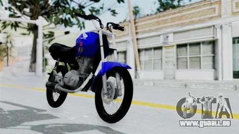 Honda CG Titan 2014 Stunt für GTA San Andreas