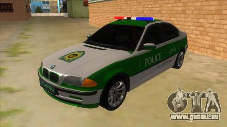 BMW Iranian Police pour GTA San Andreas