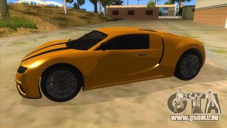 GTA 5 Truffade Adder pour GTA San Andreas laissé vue