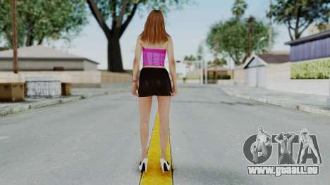 GTA 5 Hooker 01 v2 pour GTA San Andreas troisième écran
