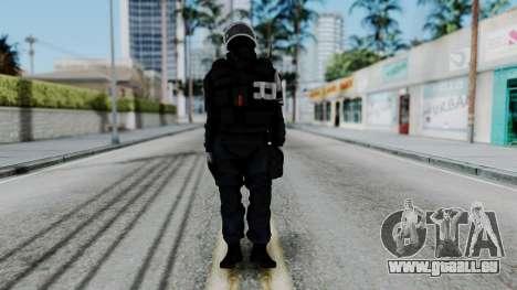 GIGN Gas Mask from Rainbow Six Siege pour GTA San Andreas deuxième écran
