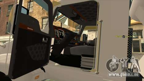 Kenworth T600 Zement-LKW für GTA San Andreas rechten Ansicht