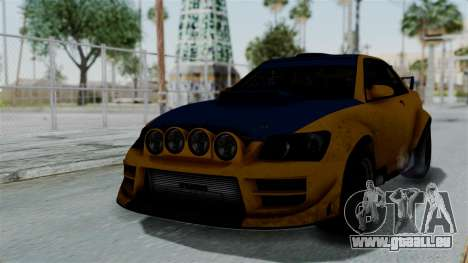 GTA 5 Karin Sultan RS Rally PJ für GTA San Andreas