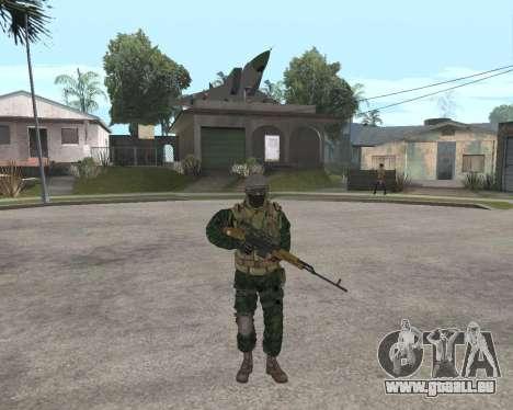 Russische Armee Skin Pack für GTA San Andreas sechsten Screenshot