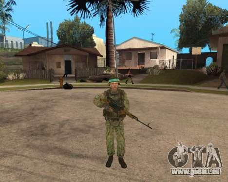 Russische Armee Skin Pack für GTA San Andreas