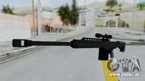 GTA 5 Heavy Sniper (M82 Barret) für GTA San Andreas zweiten Screenshot