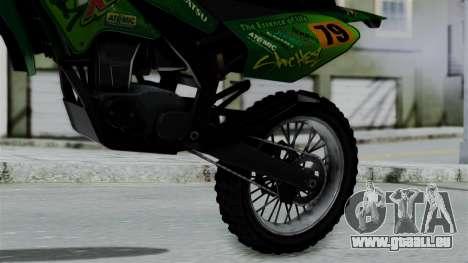 GTA 5 Maibatsu Sanchez für GTA San Andreas rechten Ansicht