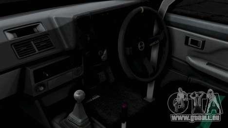 Toyota AE86 Trueno Hella pour GTA San Andreas vue de droite