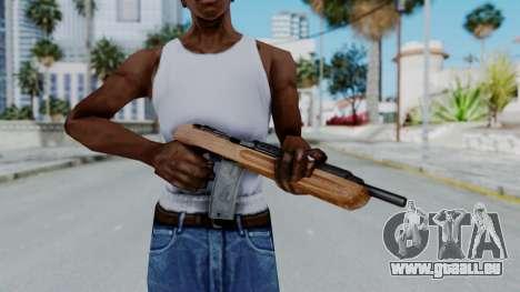 M1 Enforcer pour GTA San Andreas troisième écran