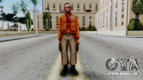 CS 1.6 Hostage 02 pour GTA San Andreas deuxième écran