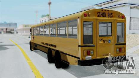 Bus from Life is Strange für GTA San Andreas linke Ansicht
