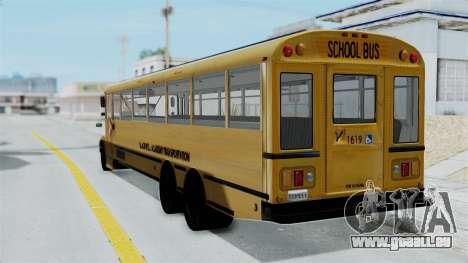 Bus from Life is Strange pour GTA San Andreas laissé vue