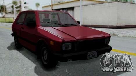 Yugo GV US für GTA San Andreas
