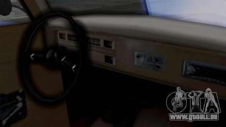 Lincoln Continental 1942 Mafia 2 v1 pour GTA San Andreas vue arrière