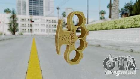 The Vagos Knuckle Dusters from Ill GG Part 2 pour GTA San Andreas deuxième écran
