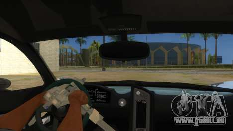 GTA 5 Progen T20 Lights version pour GTA San Andreas vue intérieure