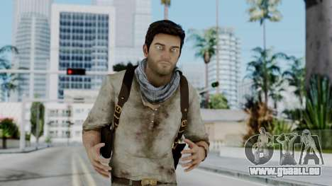 Uncharted 3 - Nathan Drake Desert Outfit für GTA San Andreas