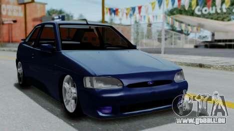 Ford Escort pour GTA San Andreas