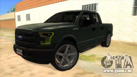 Ford F-150 2015 pour GTA San Andreas
