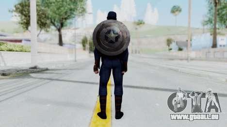 Marvel Future Fight - Captain America pour GTA San Andreas troisième écran