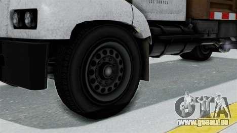 GTA 5 Tipper Second Generation pour GTA San Andreas sur la vue arrière gauche