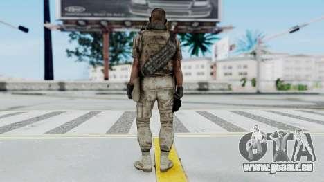 Crysis 2 US Soldier 2 Bodygroup B pour GTA San Andreas troisième écran
