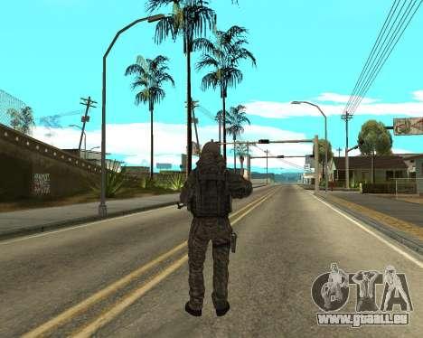 Russische Armee Skin Pack für GTA San Andreas achten Screenshot