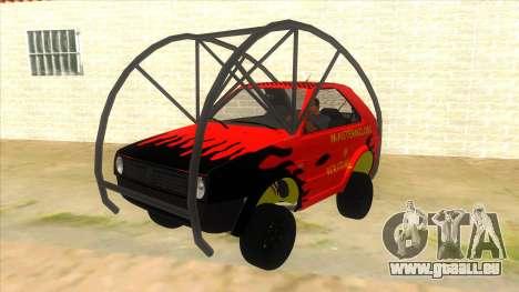 Volkswagen Golf MK2 RollGolf für GTA San Andreas